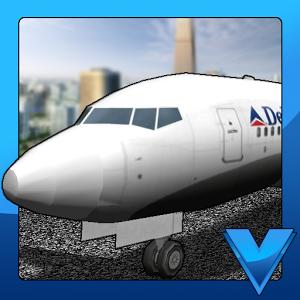 是一款模拟停飞机的竞速游戏