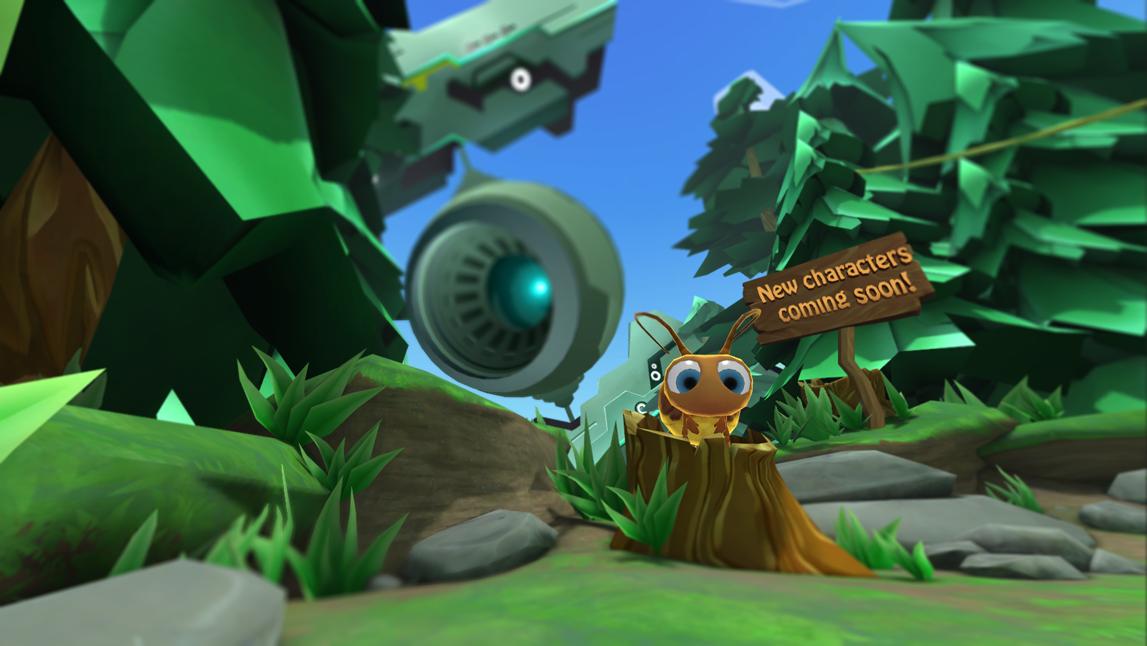 小蜜蜂的第一次VR图3