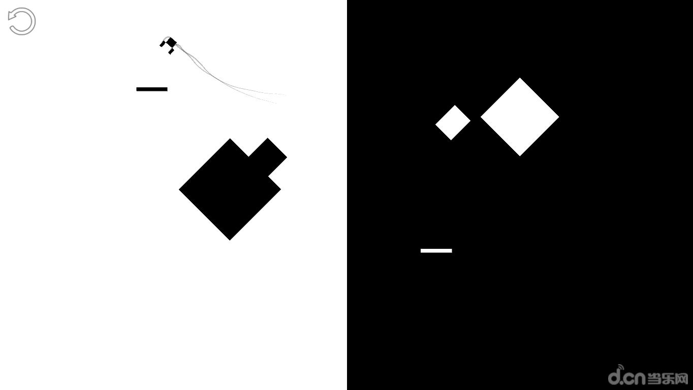 是一款黑白画风的跳跃游戏,简单轻松手指操作,欢快富有活力的天空跳跃