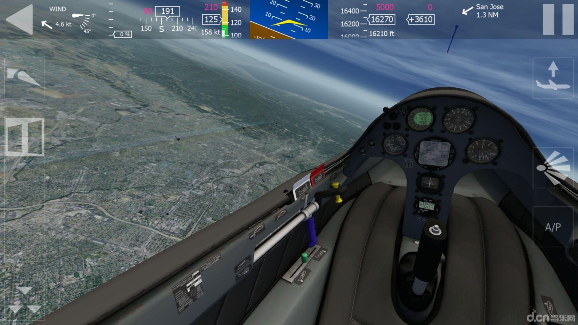 《模拟航空飞行2 Aerofly 2 Flight Simulator》是一款非常逼真的模拟飞行的模拟类游戏,游戏中会有各种各样的飞机出现。而且游戏中的画面也非常的真实,游戏玩家将会在屏幕中看到阳光的反射。游戏的制作人Torsten Hans 和Marc Borchers都是PPL专业飞行员,指导完成这款具有高度拟真和性能表现的飞行游戏,而相比于其他飞行模拟游戏的高度复杂性,aerofly FS2设计使每个人都能很快适应游戏的操作方式,轻松享受飞行模拟的趣味体验。 【测试机型】 - Nexus7二代完美运