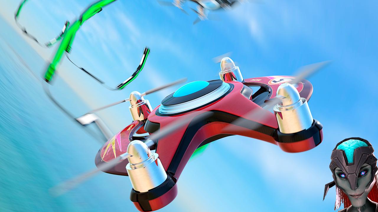 粉碎战争:无人机赛车 VR图1